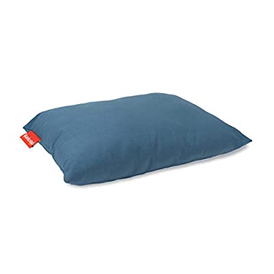Urban Infant Pipsqueak Small | Tiny | Mini Pillow with Name Tag - Washable and Hypoallergenic - Blue
