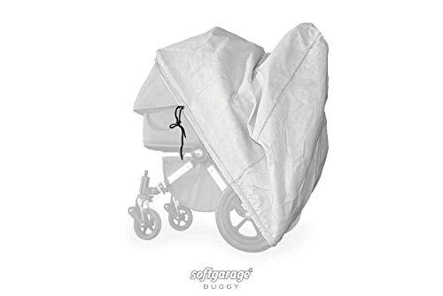 softgarage buggy softcush lichtgrau Abdeckung für Kinderwagen Safety 1st Ideal Sportive Regenschutz Regenverdeck