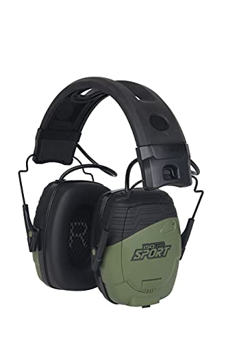 ISOtunes Sport DEFY Shooting Earmuffs: Rechargeable Bluetooth Hearing Protection