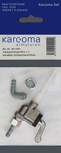 Benzinhahn M12x1, Karcoma, Mofa Moped universal, 30-1001