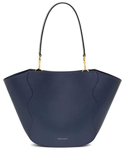 Mansur Gavriel Mini Ocean Leather Tote