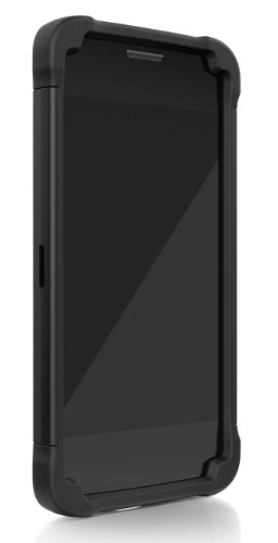 Ballistic Shell Gel for LG G2 all carriers EXCEPT VERIZON - Retail Packaging - Black
