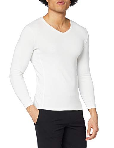Damart tee-Shirt Manches Longues Thermolactyl Bioactif Camiseta térmica, Blanco (Blanco), Extra-Large para Hombre