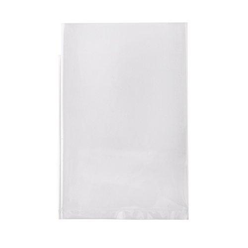 Owlpack 3 Mil Poly Bag with Open End   Cookie, Candy and Treat Bags   Clear Plastic Apparel Envelopes (4 x 6 Inches, Pack of 100)