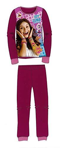 Pijama de Invierno Soy Luna Rosa Coralina de 4 años