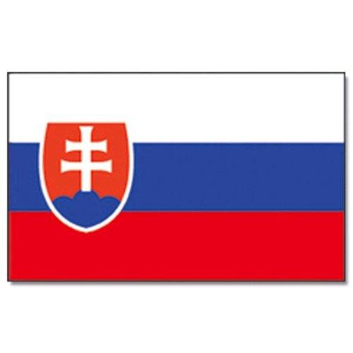 Flaggenking Slowakei Flagge/Fahne, mehrfarbig, 150 x 90 x 1 cm, 17003