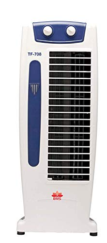 BMS LIFESTYLE Fan Tower Elegant Air Flow, High Speed, Anti Rust Body Tower Cooler(NO WATER NEEDE)