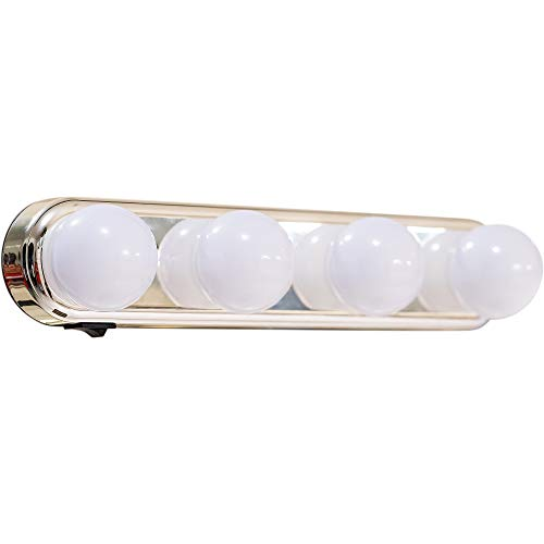 Professional Hollywood Makeup Lighting (one Set) Cordless with LED Bulbs Portable Makeup Light LED Vanity Mirror Lights Bright Lighting Fixture Strip for Bathroom Dressing Room Vanity Table