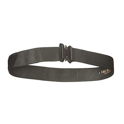 Tac Shield T303V-MDBK Cobra Buckle Velcro Gun Belt, Black