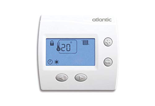 thermostat d'ambiance - digital atlantic domocable -...