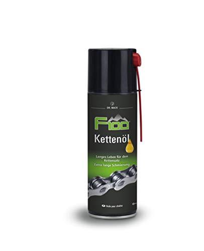 Dr. Wack - F100 Kettenöl – Spray 300 ml I Premium Fahrrad Kettenöl für weniger Reibung & Verschleiß I Kettenöl für alle Fahrräder I Hochwertige Fahrradpflege – Made in Germany
