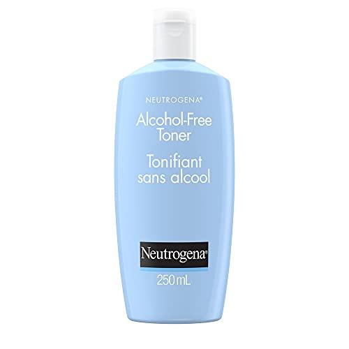 Neutrogena Tonique visage sans alcool pour tous les types de peau, non comédogène et hypoallergénique, 250 ml