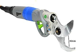 BRACOG HJ-50 -Tijeras de podar eléctricas de 50 mm Cortador de ramas de árbol de tijera recargable profesional Cortadora de tijeras eléctrica ajustable