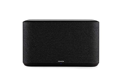 Denon Home 350 Multiroom-Lautsprecher, HiFi Lautsprecher mit HEOS Built-in, WLAN, Bluetooth, USB, AirPlay 2, Hi-Res Audio, Alexa kompatibel, schwarz (Generalüberholt)