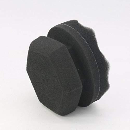 Los Accesorios para automóviles de 8/11 cm facilitan los Detalles del aplicador de Revestimiento de neumáticos de automóviles Wave Esponja de Pulido y Encerado portátil y práctica