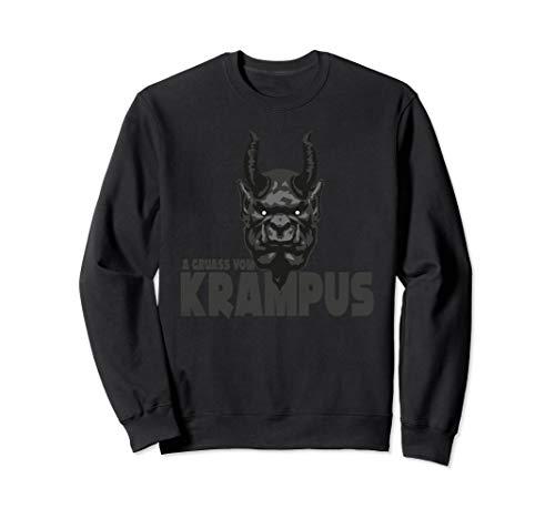 A Gruass vom Krampus - Grüße vom Krampus zu Weihnachten Sweatshirt