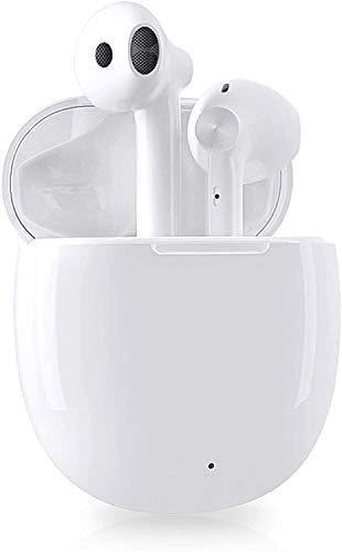 Wireless Earbuds Bluetooth Headphones,with Fast Charging Case/Stereo Mic Headphones,Noise Reduction Headphones,Touch Control Semi-in-Ear Headset Suitable for iPhone/Airpods/Sumsung