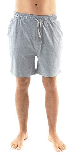 El Búho Nocturno - Pantalón de Pijama Corto Suelto de