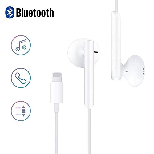 MoYaGoa In-Ear Headphones for Phone, Hands-free Wired Earphones, Noise...