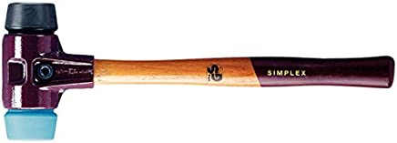 Halder 2310481 2310481 2310481 Schonhammer Simplex  50mm aus Hartgummi Weichgummi B00O6Y9QRE | Qualität Produkte  339870