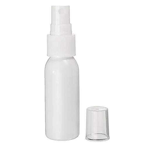 Pulvérisateur arrosage des Plantes de Bouteille Sprays pour Les Cheveux 10PCS 30ml en Plastique Blanc Parfum Vaporisateur Refillable Maquillage Eau Flacon pulvérisateur Domestique Portable