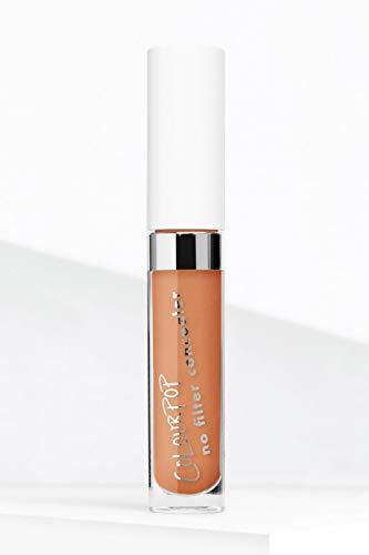 ColourPop - No Filter Matte Concealer 0.14 oz Deep Dark 50 (golden warm concealer for deep dark skin tones)