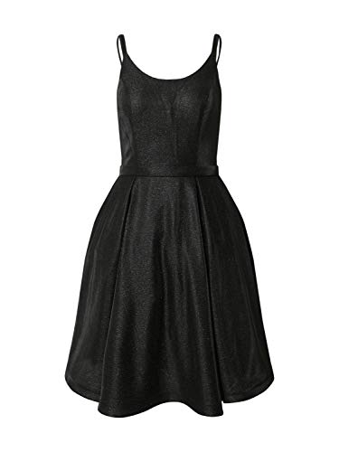 Mascara Damen Cocktailkleid Silber 34