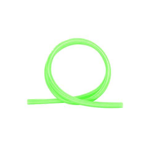 Shisha King Premium Silikonschlauch glänzend   150cm lang   für alle Wasserpfeifen & Mundstücke   Zubehör Shisha Schlauch lebensmittelecht Silikon (Neon Grün)
