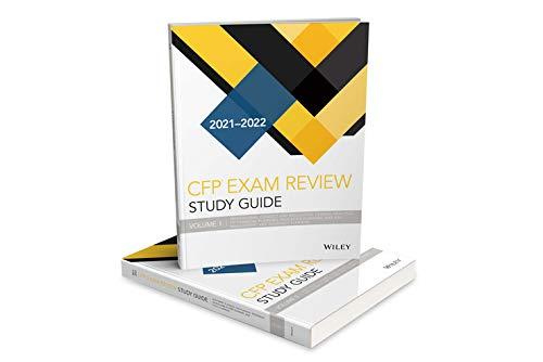 Wiley Study Guide for 2021-2022 CFP Exam Complete Set