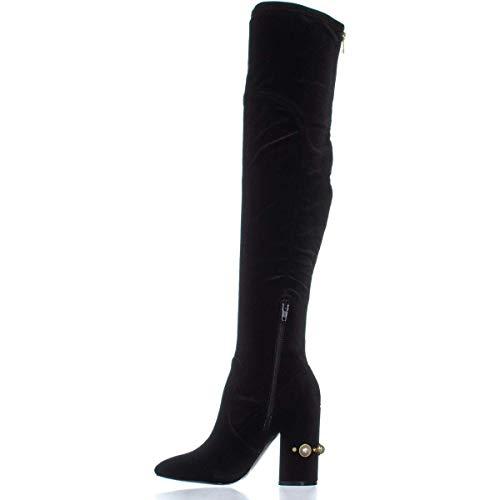 Ivanka Trump Womens Tamir Closed Toe Knee High Fashion Boots, Black, Size 9.5