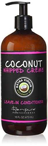 Renpure Coconut Whipped Creme LeaveIn Conditioner 16 Ounces