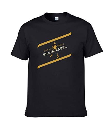 AILIBOTE Johnnie Walker Black Label Camiseta para hombre