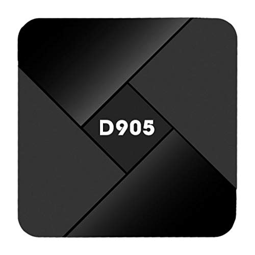 Android TV Box, Diyomate 4K Smart TV Box Amlogic S905 Quad Core Media Player Support 3D WiFi HDMI for Home Entertainment