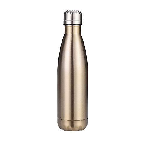 Chilly's Bottles, botella de agua de acero inoxidable de doble capa a prueba de fugas, botella de coca de coca reutilizable, botella deportiva de enfriamiento, para mujeres y hombres, 03.500 ml