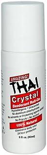 Thai Crystal Mist Roll On By Thai Deodorant Stone - 3 Oz, 3 Pack