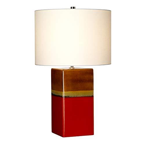 Elstead - Alba 1 Lámpara de mesa Luz - Rouge ALBA/TL ROUGE