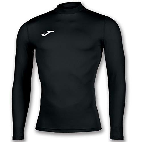 Joma Academy Camiseta Termica, Hombre, Negro, L-XL