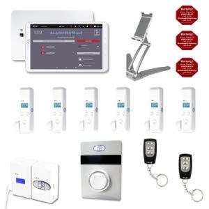 AlarmTab® - Smart-Home Alarmanlage (Weiß)