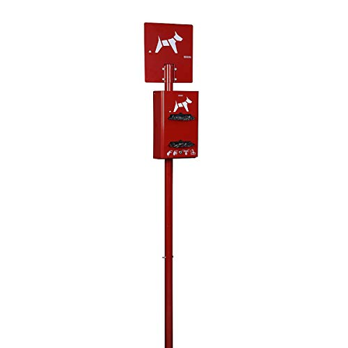Rossignol - Borne canine sur poteau rouleaux ROSSIGNOL Couleur - Rouge rubis
