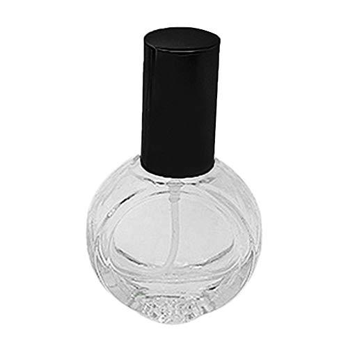 uyhghjhb Flacon Vaporisateur de Parfum réutilisable 10 ML, Verre, Noir