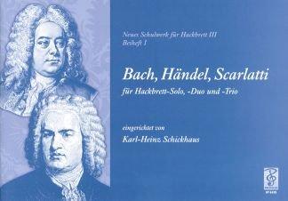 Bachmann Haendel Scarlatti–Arreglados para dulcémele [de la fragancia/Alemán] Compositor: La moda casa Karl Heinz