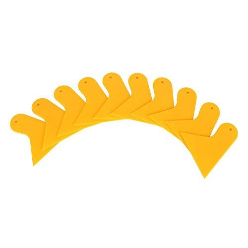 Qiilu 1pc Glasschraper Wisser Voorruit Schoon Plastic Raamfolie Film Gereedschap Carwash Plate