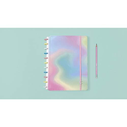 Caderno Inteligente, Grande, Candy Splash, 215x280mm, 80 Folhas