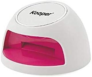 takestop® Mini lámpara portátil con luz UV, cuerpo de plástico, para reconstrucción de uñas, manos y pies, color aleatorio