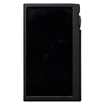 for Astell&Kern Kann Alpha  Hand Crafted Miter PU Leather Case Cover AK Kann Alpha Case  Black