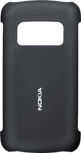 Nokia Custodia Posteriore in Plastica per Nokia C6-01, Nero