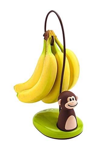 Joie Bananenständer Affe, Kunststoff, Mehrfarbig, 14,6 x 11,4 x 29,2 cm