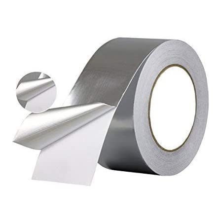 Euro® Water And UV Resistant Aluminium Foil Adhesive Tape, Fire Retardant  and Corrosion Resistant, 2 inches X 20 Meters: Amazon.in: Industrial &  Scientific