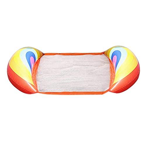 Riyyow Solicitud Flotante de la Fila Piscina de la Piscina Float Hamg Mock inflables Balsas Piscina Air Lightweight Silla Flotante Juguetes (Size : B)