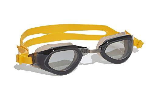 adidas Hombre Persistar Fit Gafas de natación Hombre Gris, M
